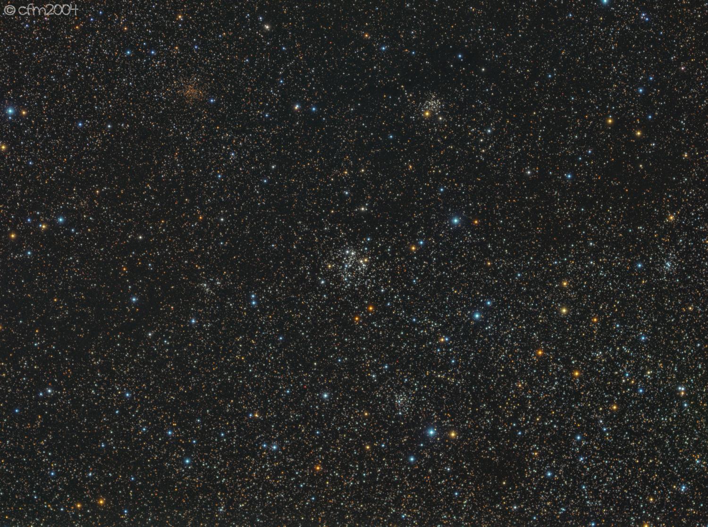 NGC663 Ammasso aperto in Cassiopea