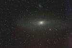 M31 Galassia di Andromeda - Luglio 2005