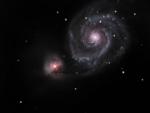 M51 galassia Whirlpool - giugno 2009
