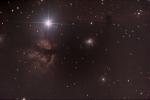 Nebulosa Fiamma e nebulosa Testa di Cavallo