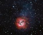 M20 Nebulosa Trifida, 14-15 luglio 2010